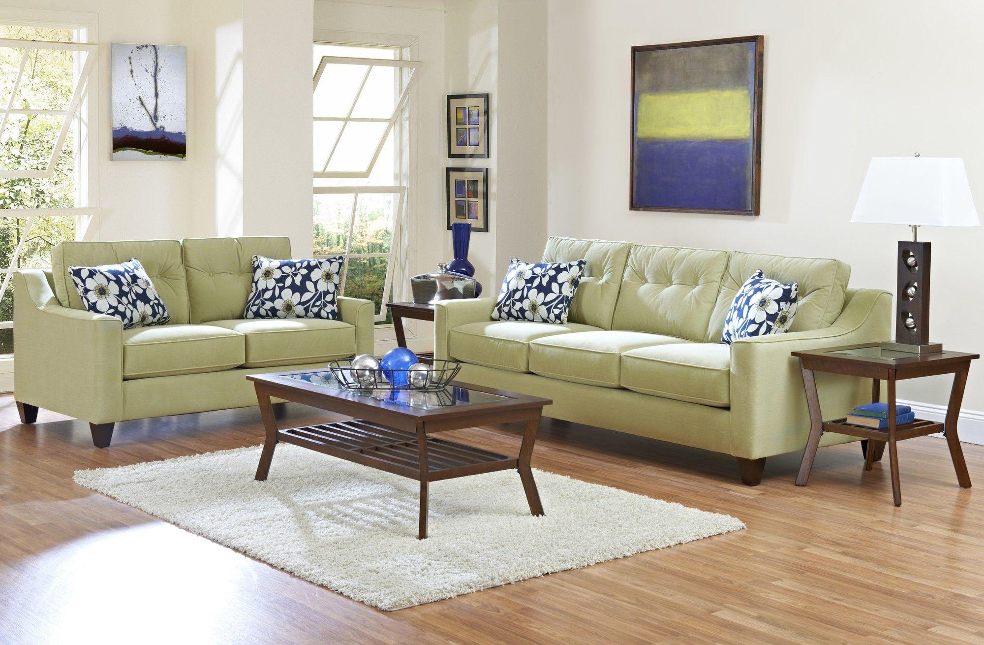Klaussner Furniture Audrina Living Room Collection   Living room collections, Living room sets ...