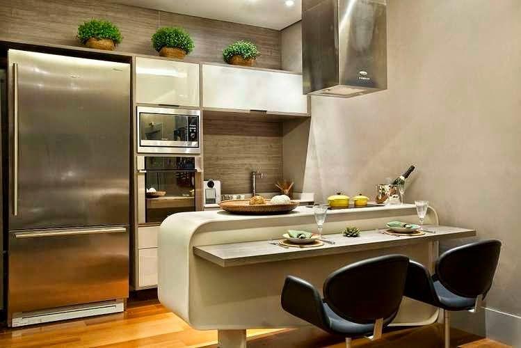 21 cozinhas americanas modernas veja modelos de bancadas - Casas americanas modernas ...