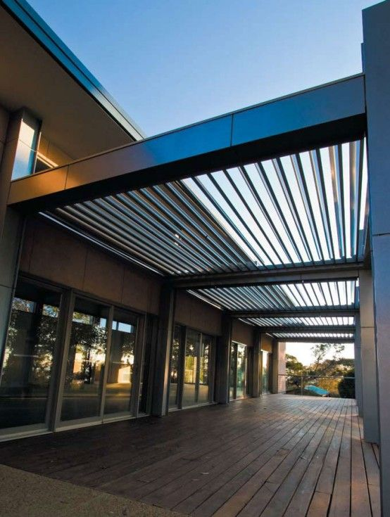Cool Idea For Patio Opening Roofs By Louvretec