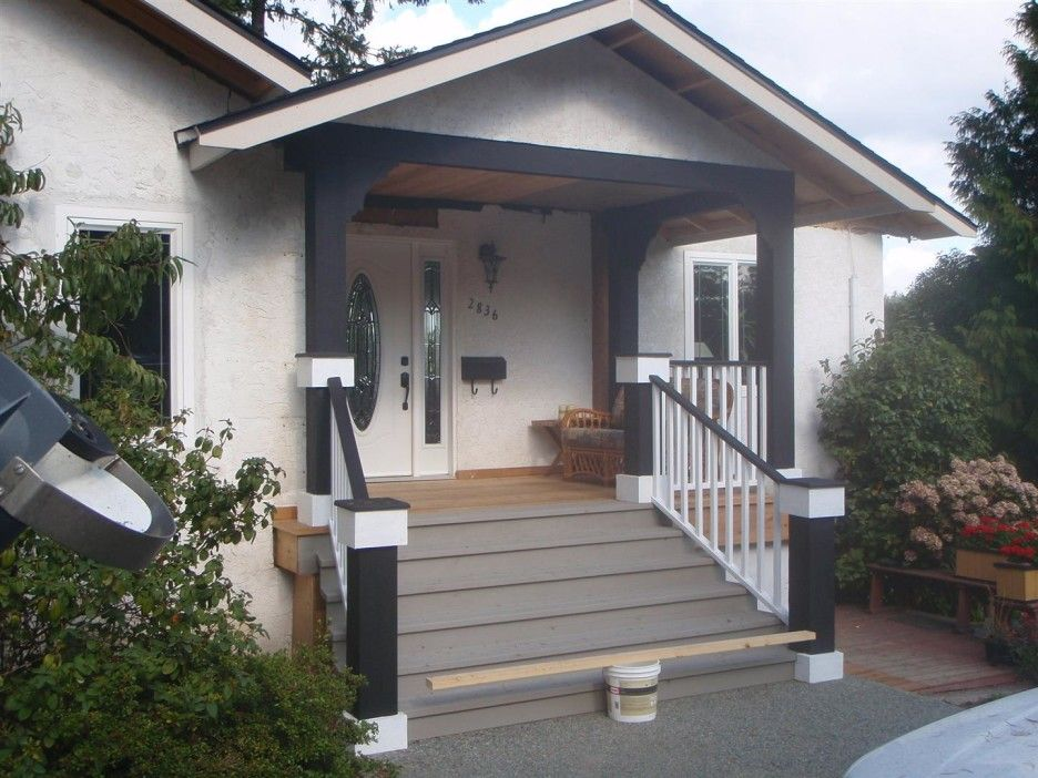 Best Image Result For Black Porch Columns Porch Steps Front 640 x 480