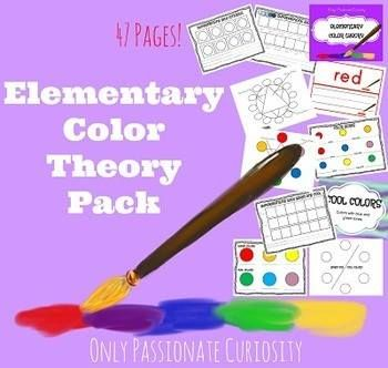 Saving 4 A Sunny Day: Free Elementary Color Theory Pack