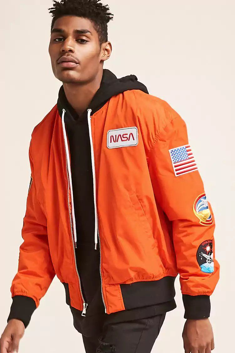 1af05d428 Product Name:NASA Patched Bomber Jacket, Category:CLEARANCE_ZERO ...
