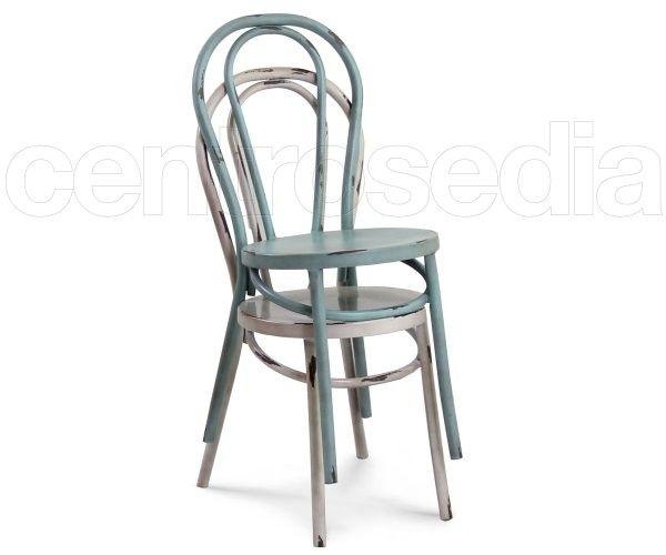 Sedie In Metallo Vintage : Thonet sedia metallo vintage sedie alluminio metallo don t