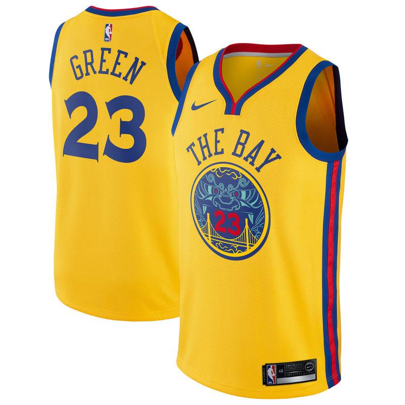 Draymond Green Golden State Warriors Nike Swingman Jersey Gold - City  Edition 77c96158a