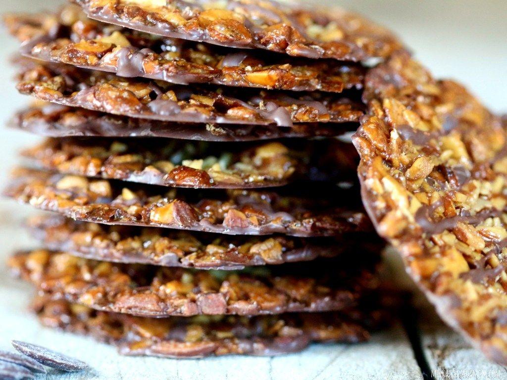 Almond Florentines Recipe In 2020 Florentines Recipe Food Recipes