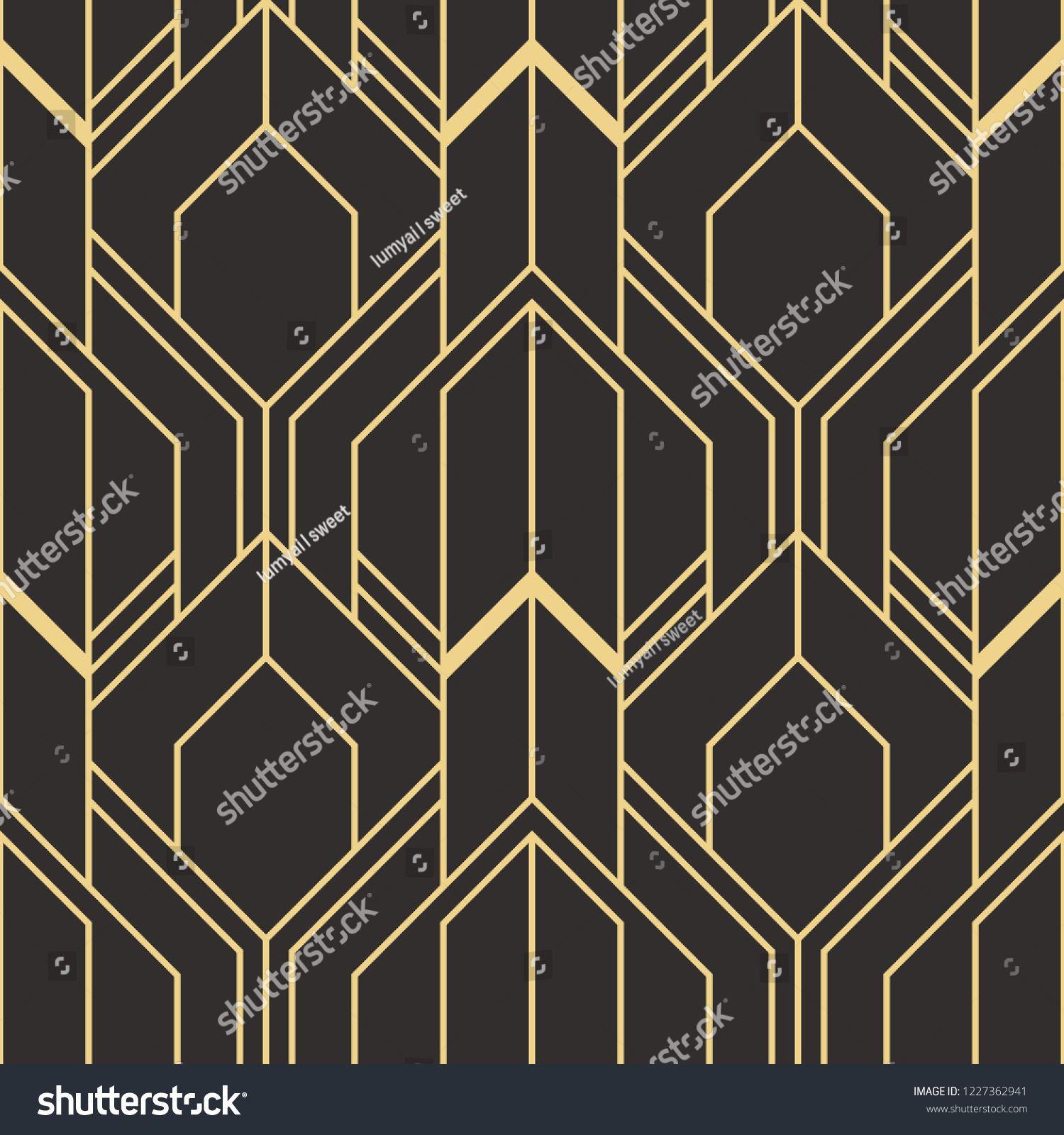 vector modern geometric tiles pattern