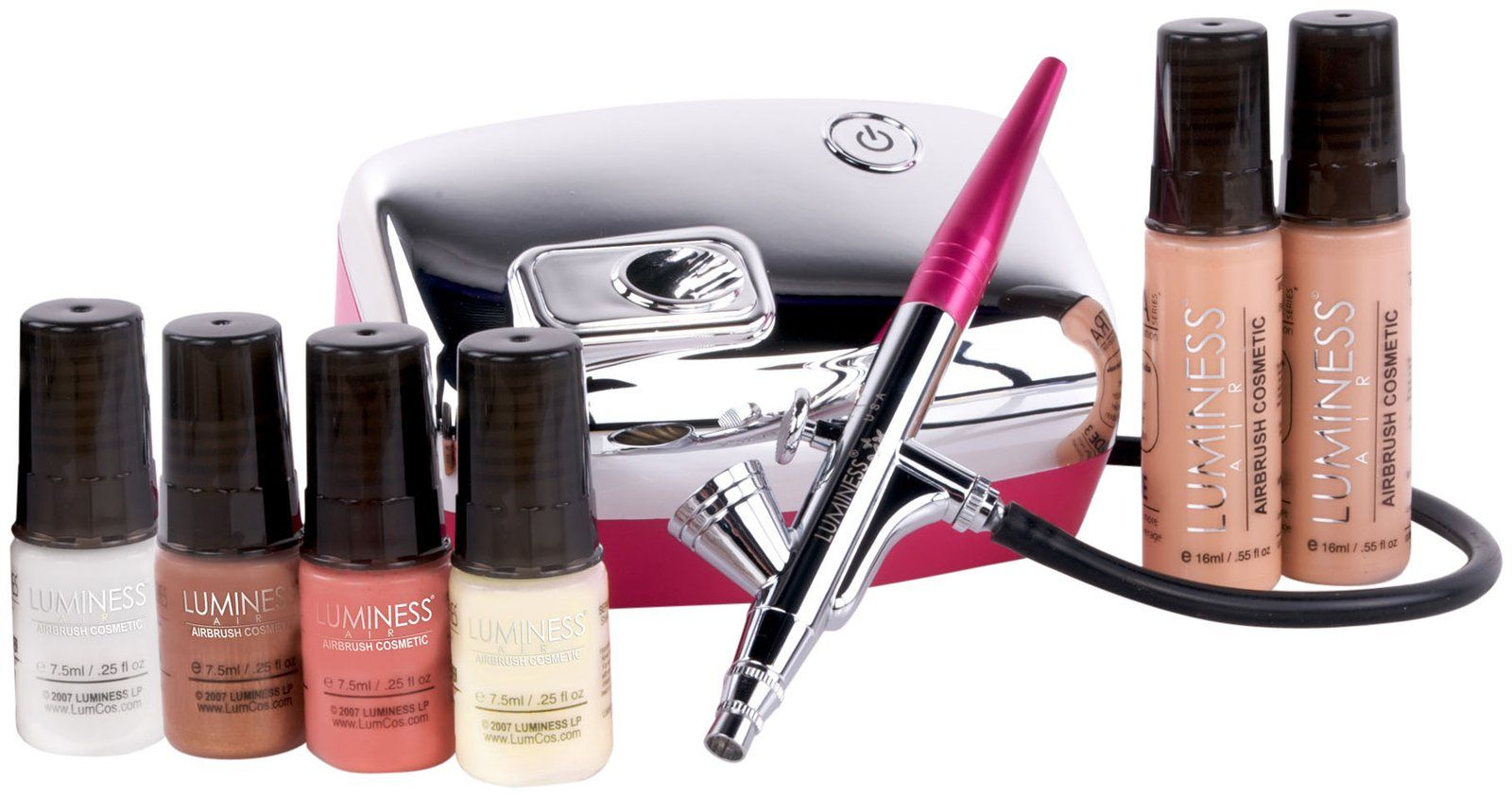 Luminess Air Heiress System Airbrush makeup reviews