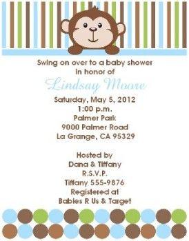 Little monkey baby shower invitations boy keepsake imprints online little monkey baby shower invitations boy keepsake imprints online store filmwisefo