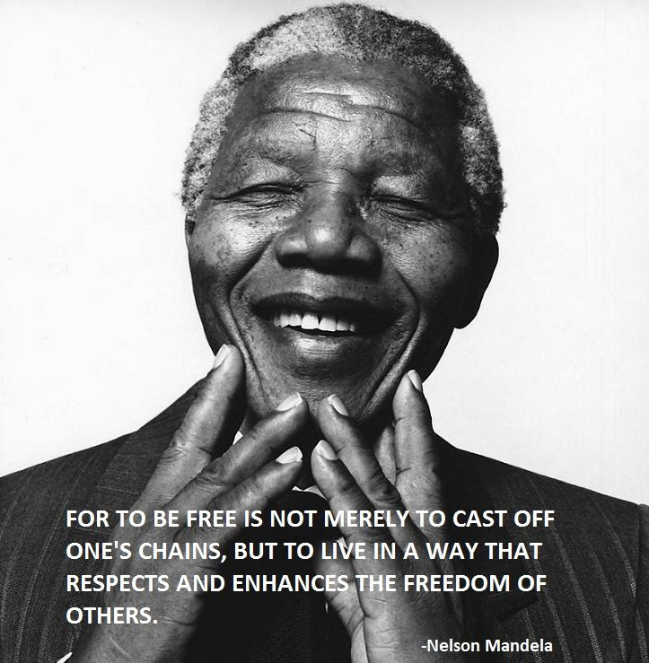 Nelson Mandela Quote About Freedom Wow Words Of Wisdom Pinterest