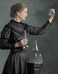 Maybe my  niece will be up for going as Madame Curie for Halloween.