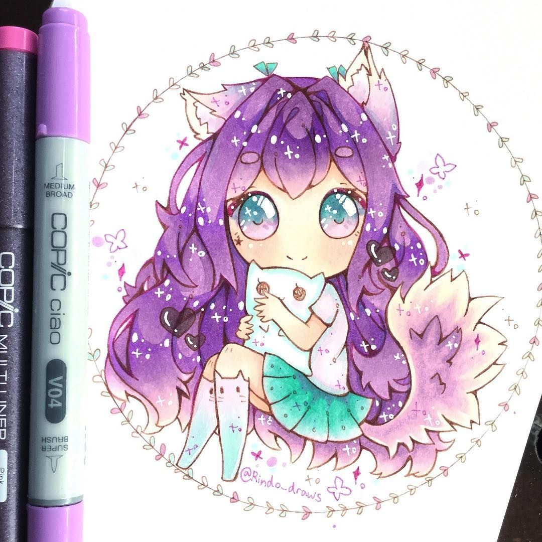 Art artsy artist artwork draw drawing drawings chibi chibiart chibigirl chibidrawing cute cuteness kawaii kawaiigirl adorable color