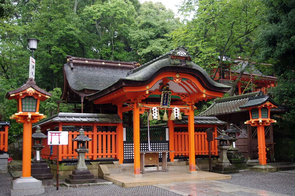 Fushimi-Inari shrine, Kyoto, Japan
