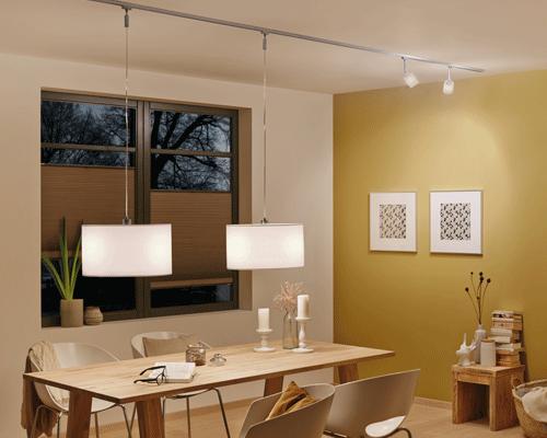 pendel urail schienensysteme leuchten paulmann licht gmbh wohnen pinterest. Black Bedroom Furniture Sets. Home Design Ideas