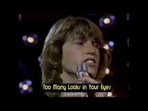 Andy Gibb To Many Looks In Your Eyes Live Youtube Live