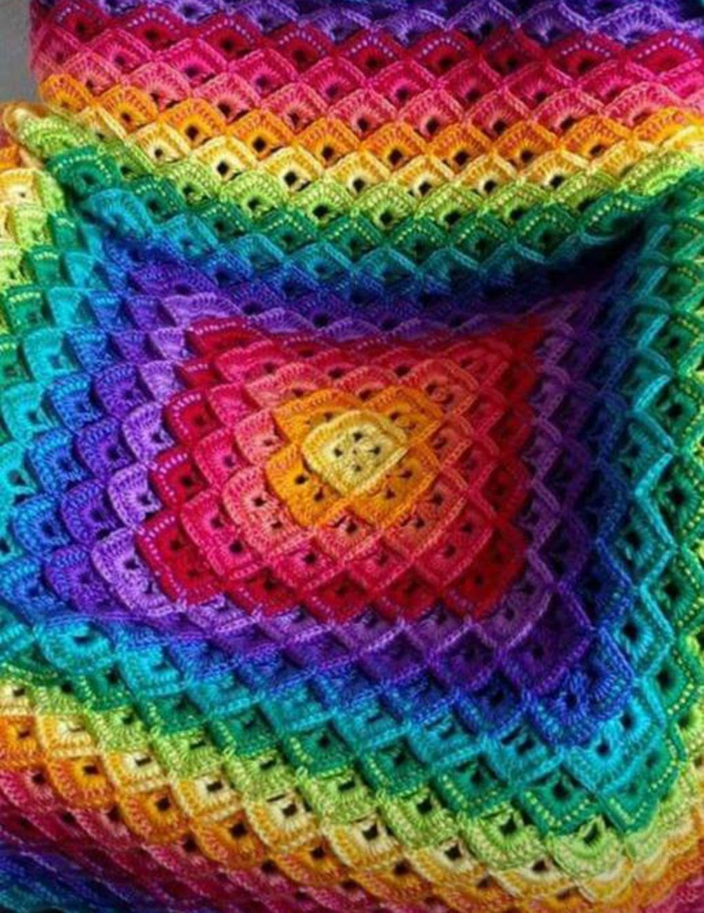 Shells Blanket Tutorial + Free Pattern | Crochet patterns | Pinterest