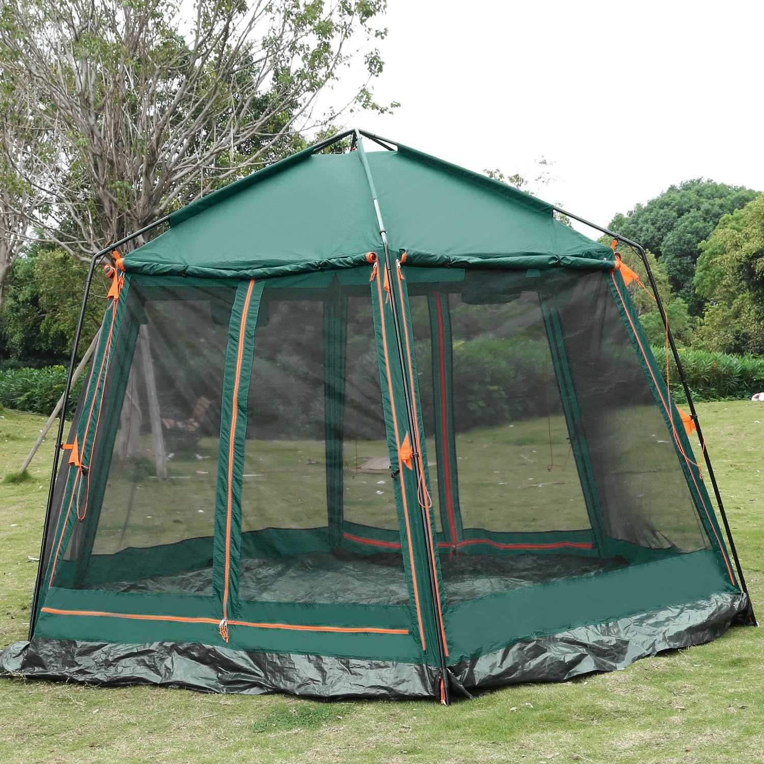 Ancheer 8 Person Camping Tent Double Layer Windproof