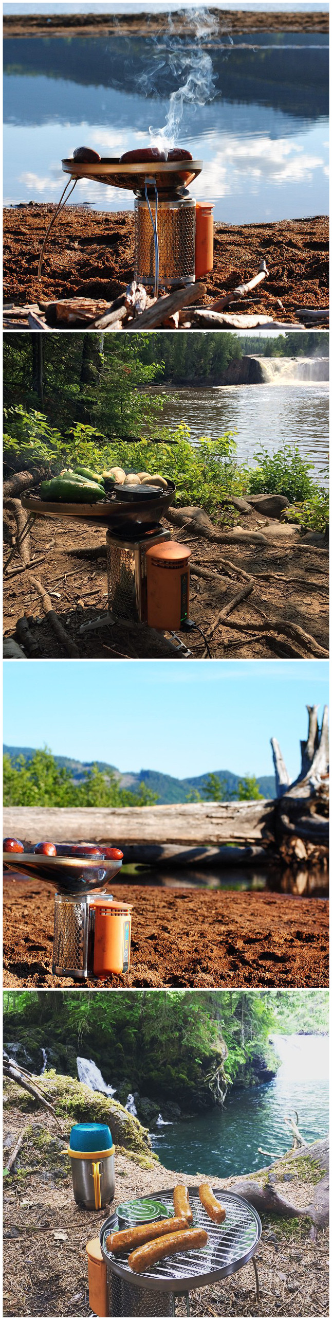 BioLite CampStove Bundle put to good use by super outdoor ...