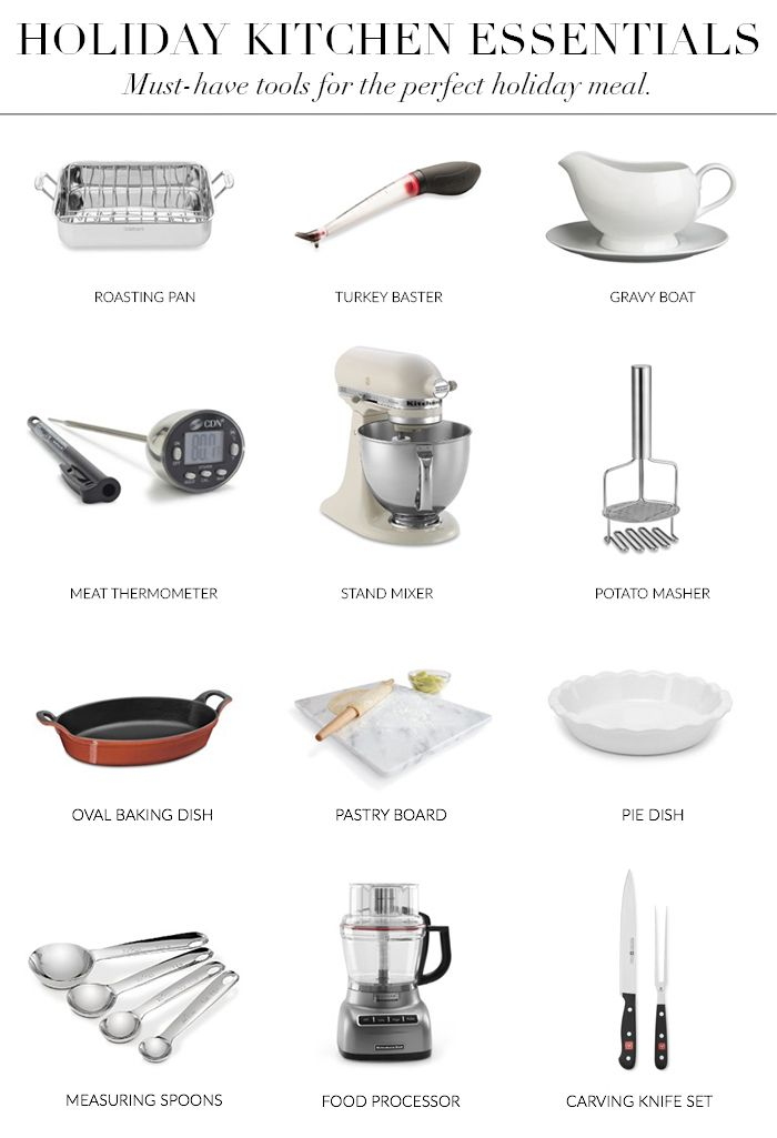 Holiday Kitchen Essentials Al The Tools Gadgets You Need To Rhpinterest: Kitchen Essentials Set At Home Improvement Advice