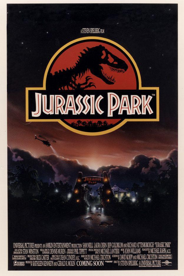 this unseen jurassic park poster art