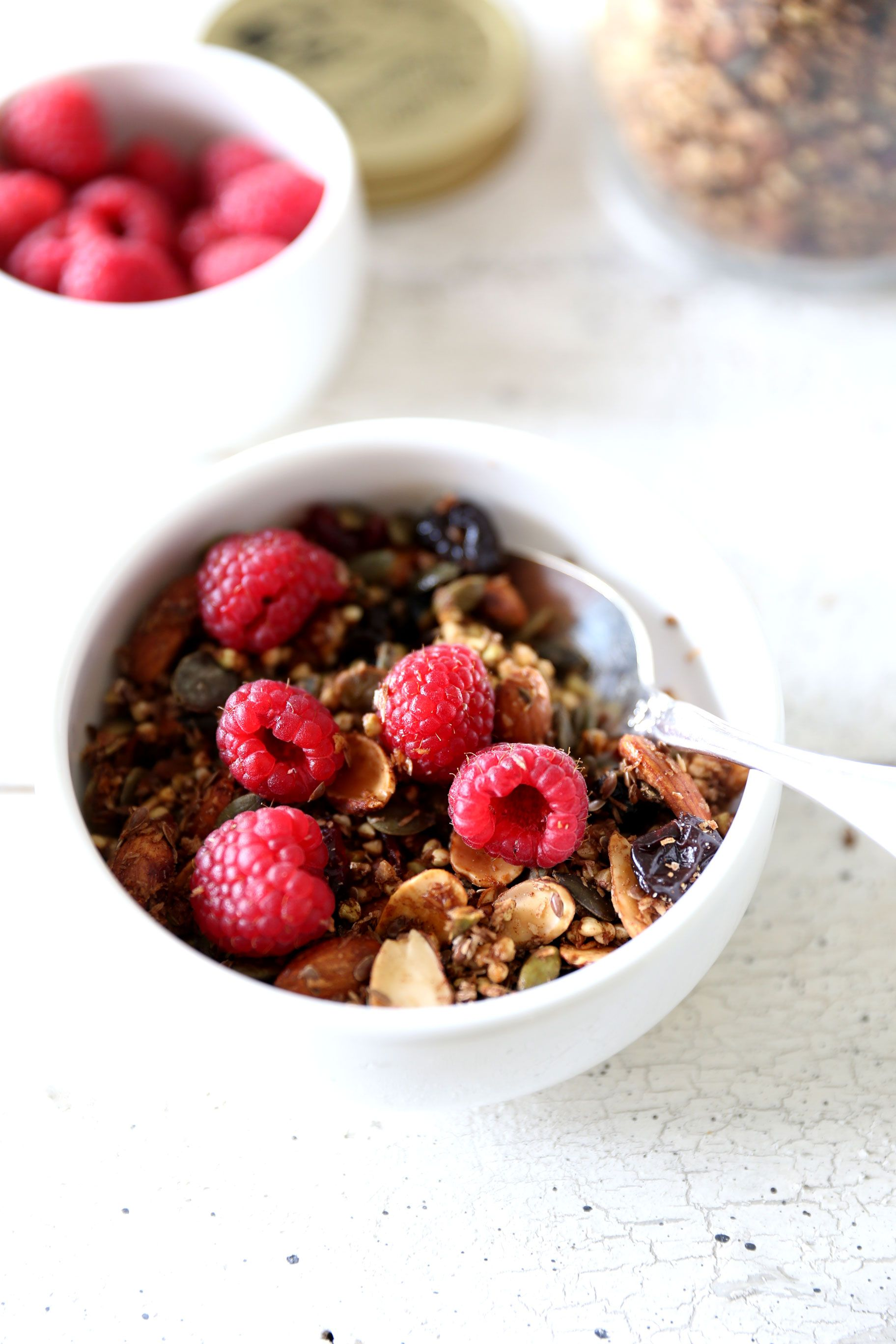 Applesauce Cinnamon Buckwheat Granola Crunchies | K and K ...