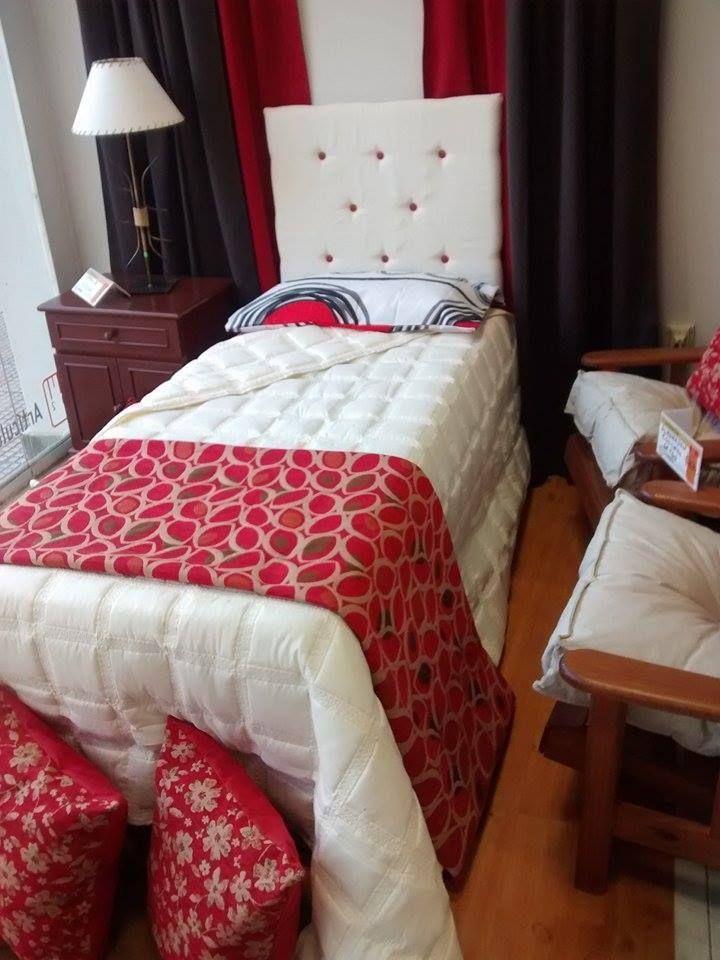 Sabanas, acolchado, pie de cama, respaldo de cama, almohadones