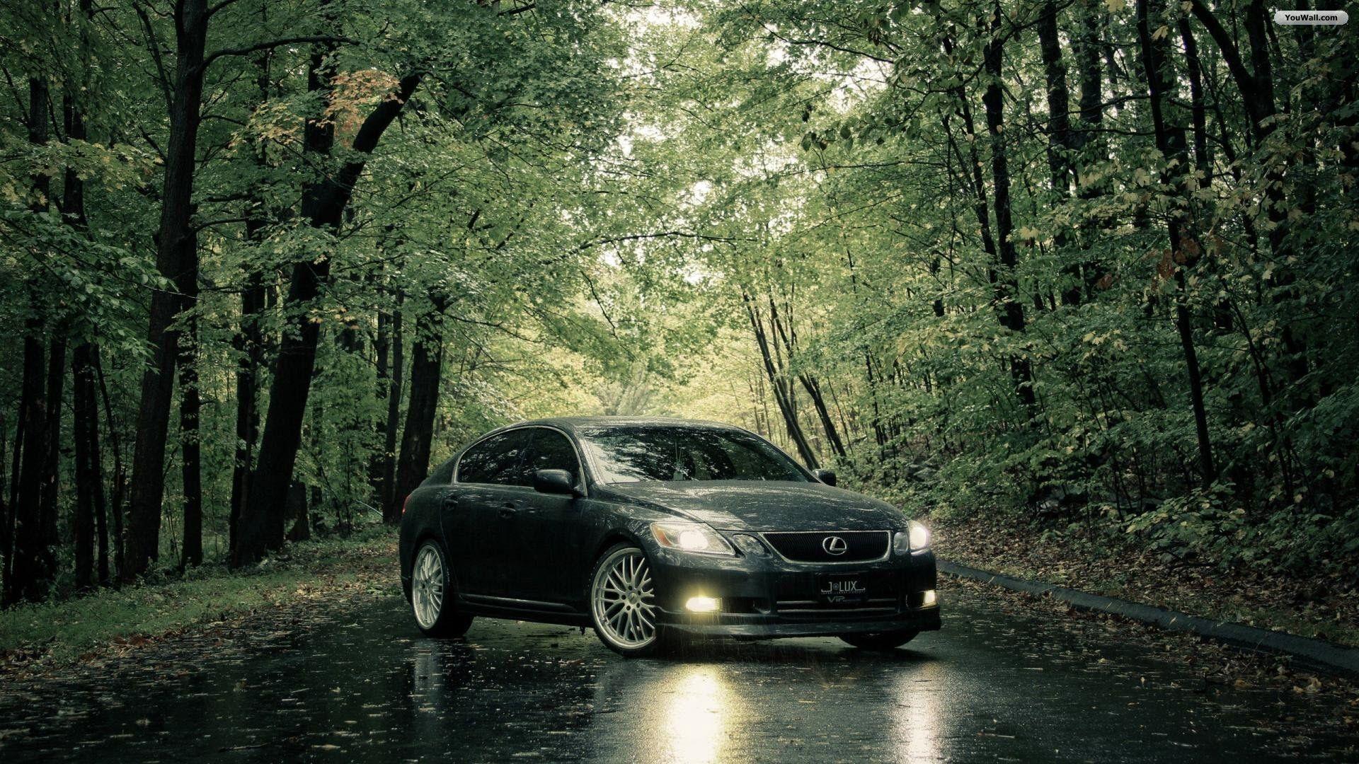 Lexus Wallpaper Lexus Car Forest Landscape