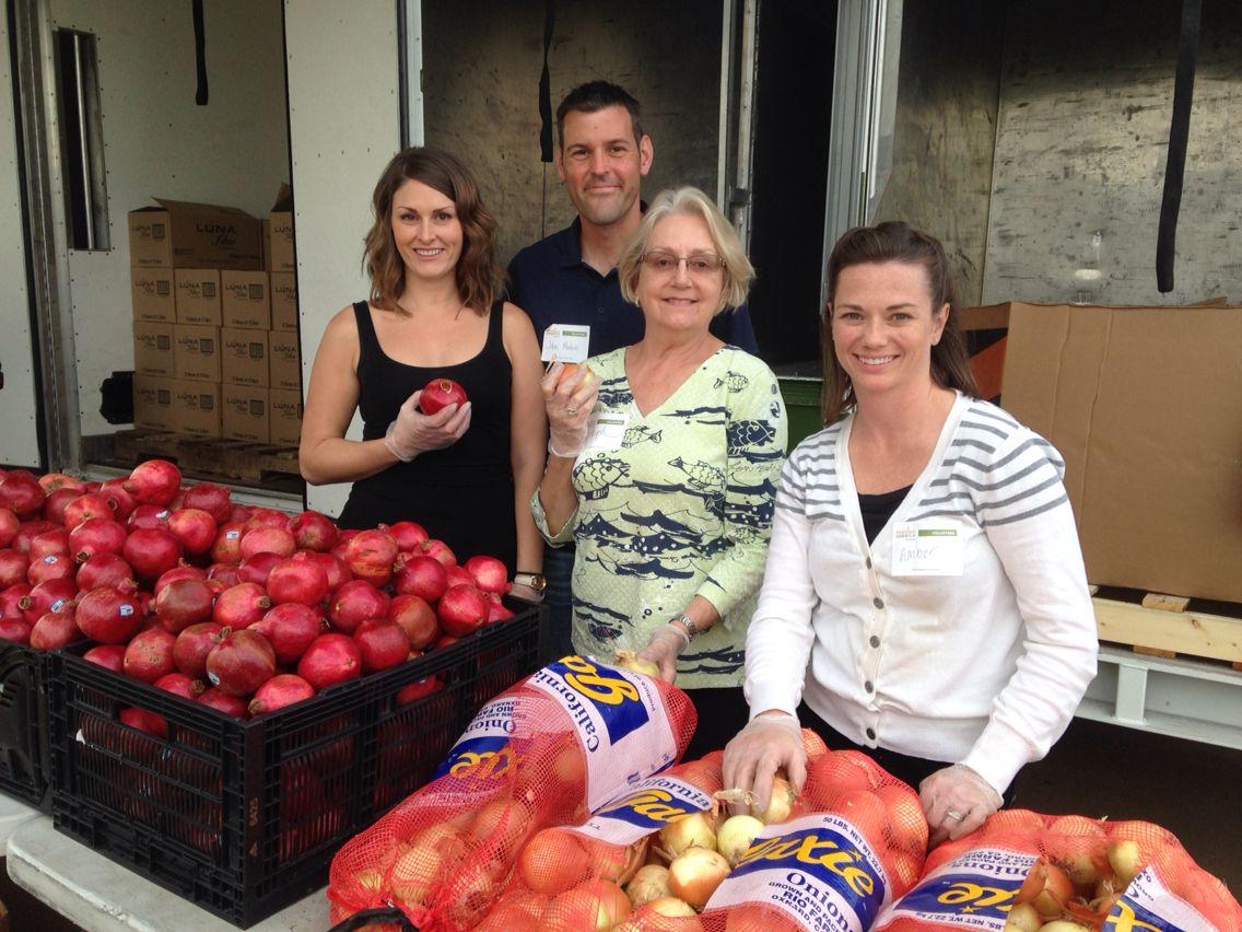Volunteer event at Feeding America in Logan Heights!