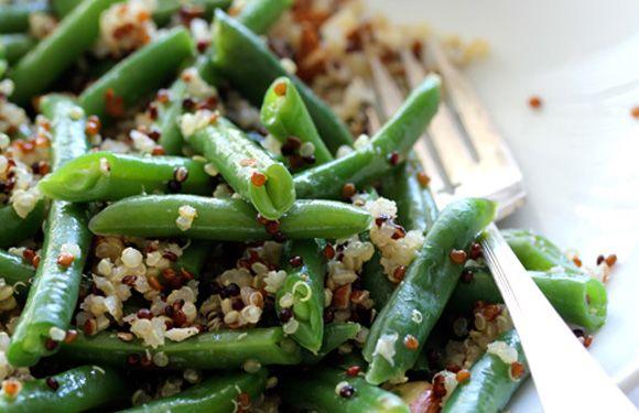 Greens Beans & Tricolor Quinoa
