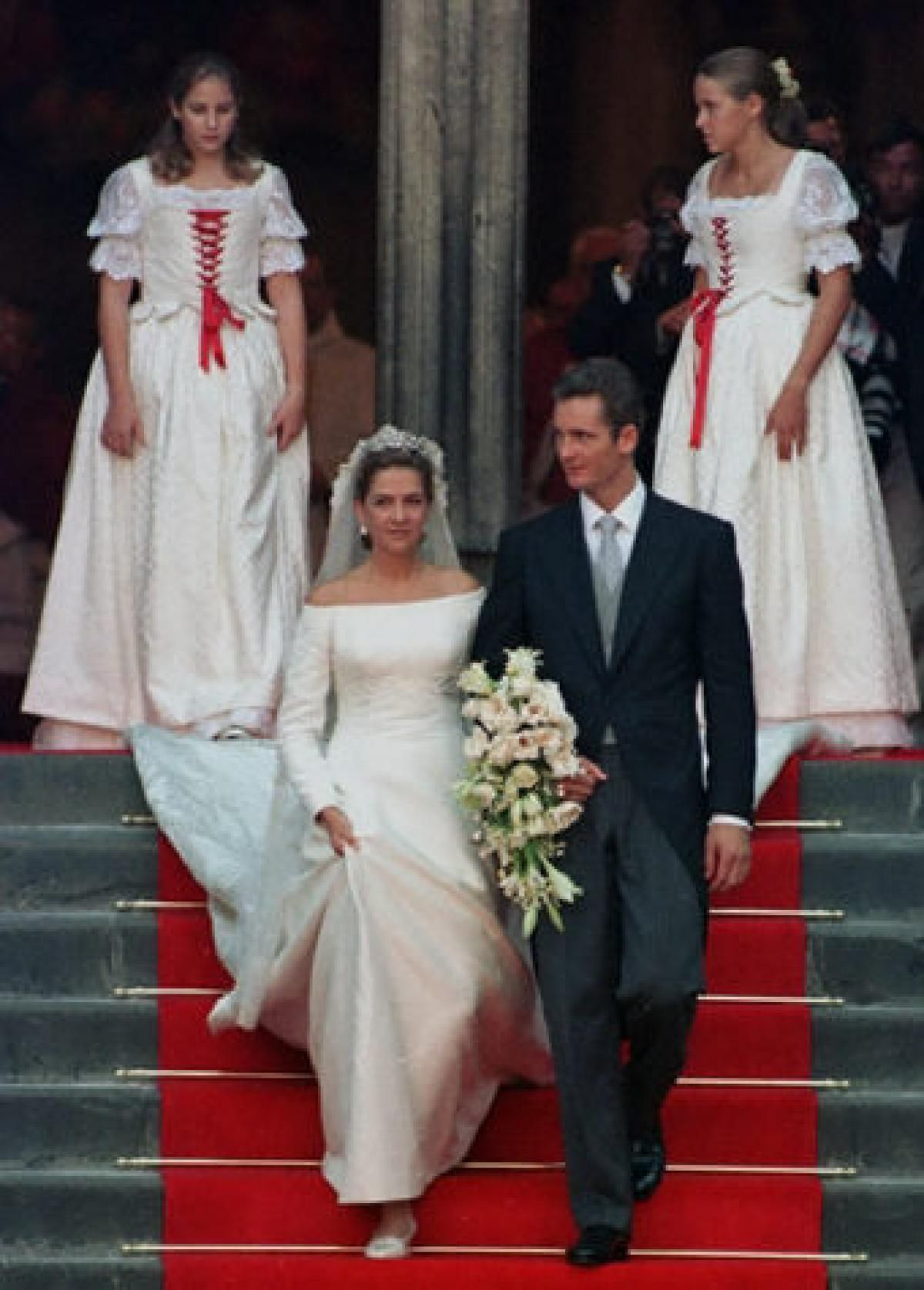 Princess Cristina And Prince Inaki Urdangarin Of Spainthe Youngest Daughter King Juan Carlos I