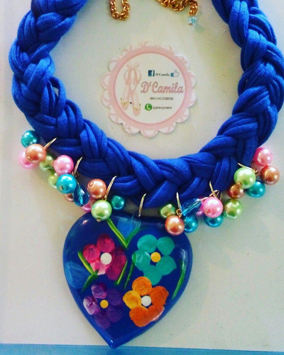 f6d622dd18a8 Pin de Karla Acosta en D Camila collares artesanales