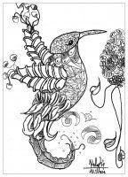 Display image coloriage-adulte-oiseau-valentin