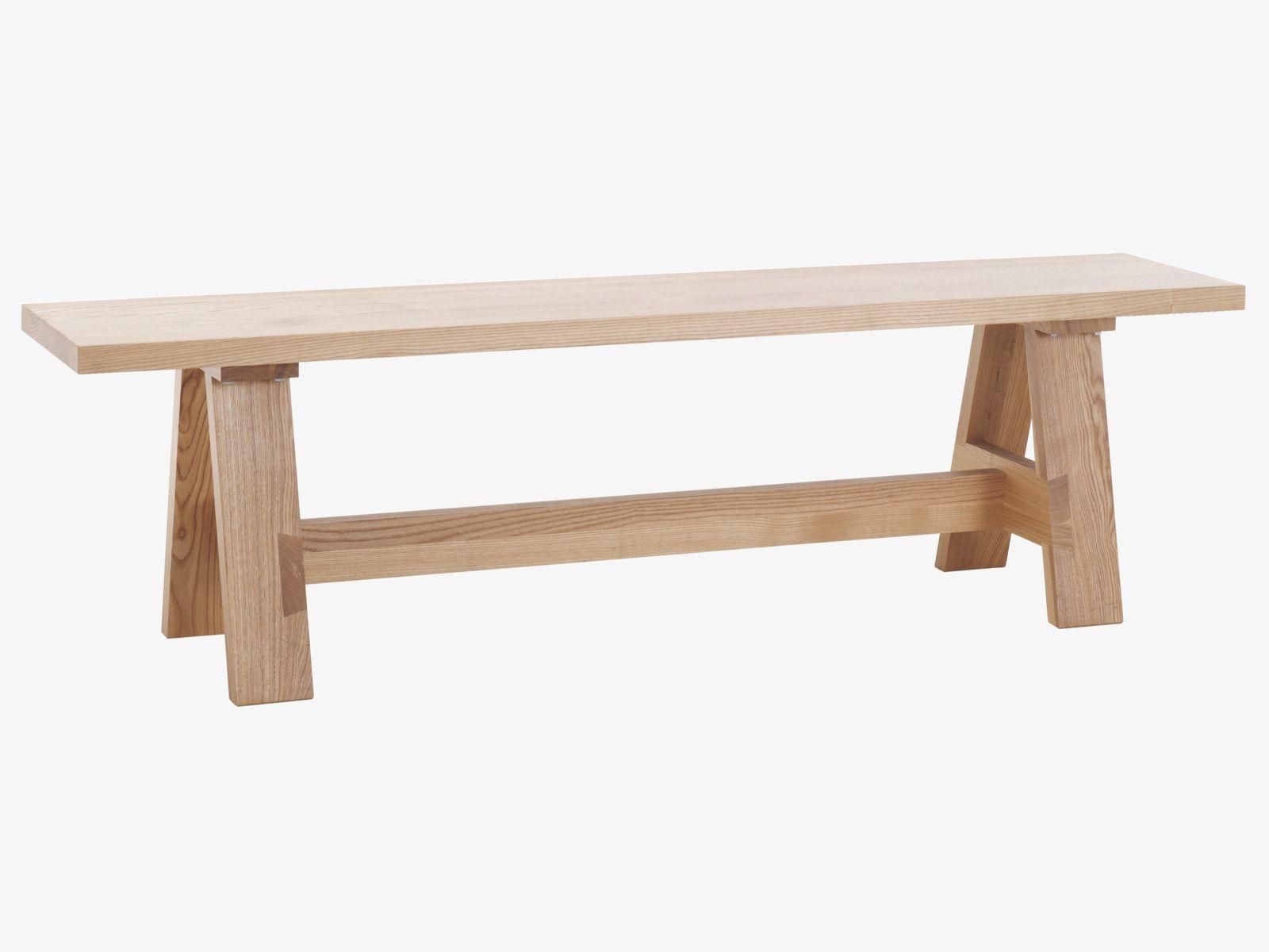 ETHAN Neutrae Holz Sitzbank