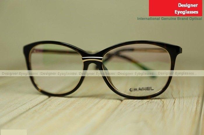 Chanel 1507T large-rim fashion near-sighted eyeglasses testudinarious