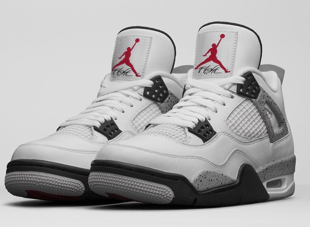 The Nike Air Jordan 4 OG 89 White Cement 2016 Release Date is set for NBA  All-Star Weekend in Toronto. The Air Jordan 4 White Cement Nike Air Release  Date
