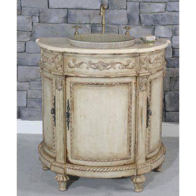 Kingston Demilune Single Bathroom Vanity