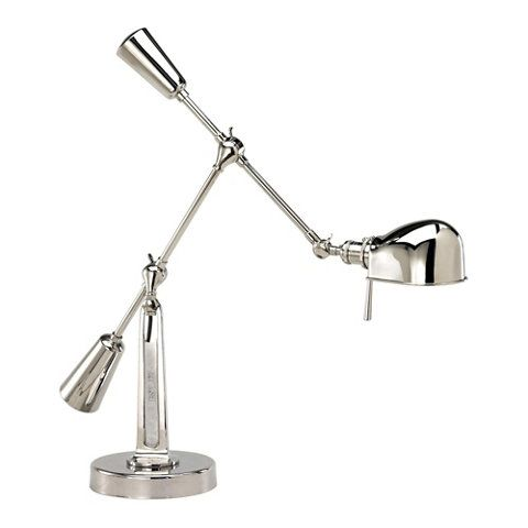 Rl 67 Boom Arm Desk Lamp In Polished Nickel Rl14030pn Ralph