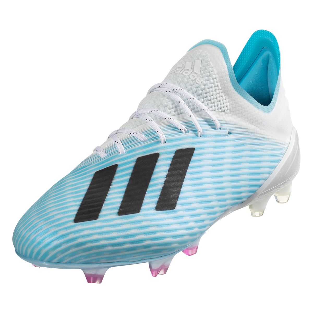 Adidas X 19 1 Fg Soccer Cleats Cyan Black Pink 11 5 Soccer Cleats Nike Football Boots Soccer Cleats Nike