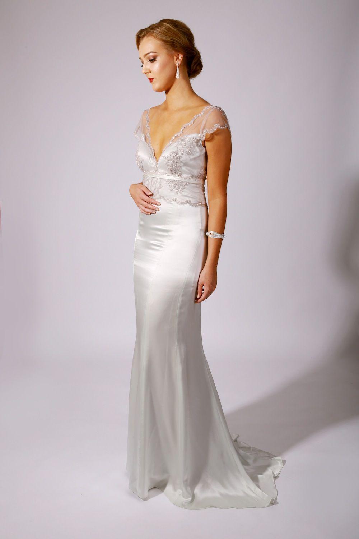 Leah Wedding Gown | Byron Bay - Wedding Collection - Leonard ...