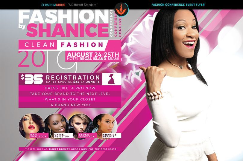 FashionConferenceFlyerTemplatePsd   Beauty Salon Flyer