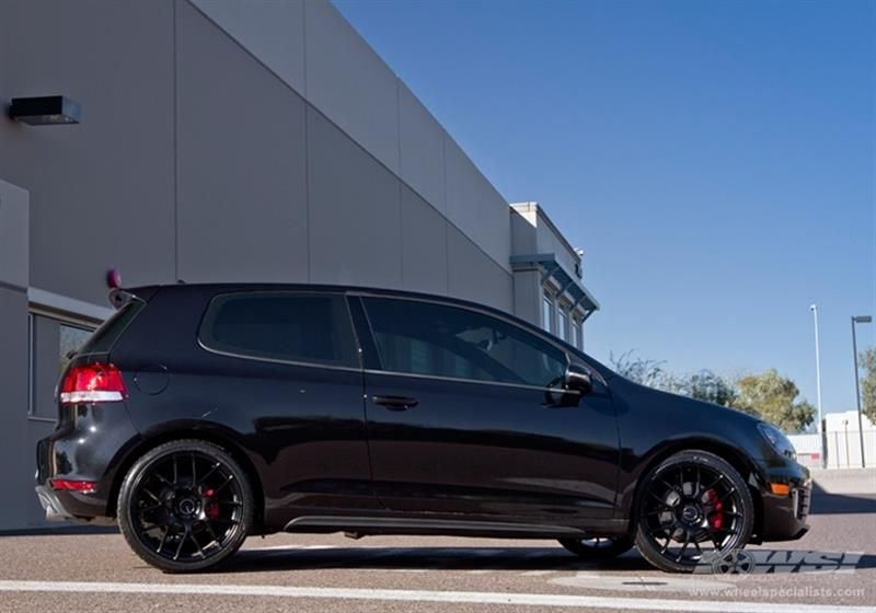 2012 Volkswagen Gti With 19 Enkei Wheels Wheel Specialists Inc