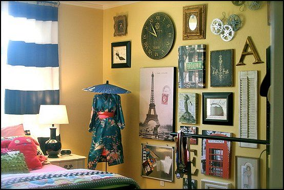 Decorating Theme Bedrooms   Maries Manor: Travel Theme Decorating Ideas    Global Decor   World