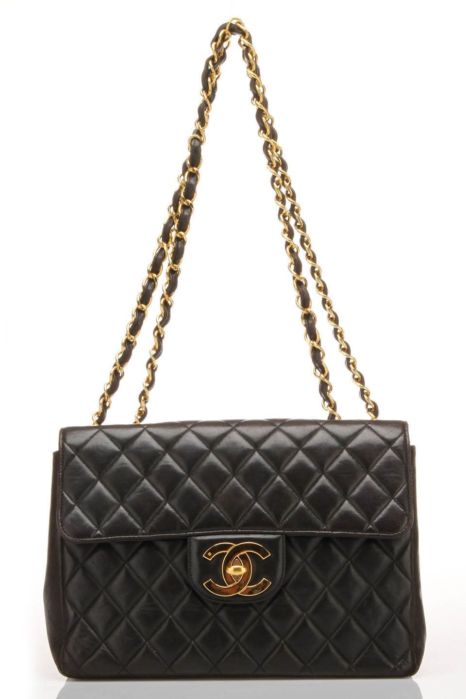 6a3d1d7440ef65 Chanel Matelasse Jumbo In Black - Um , yes! PLEASE!   Things that ...