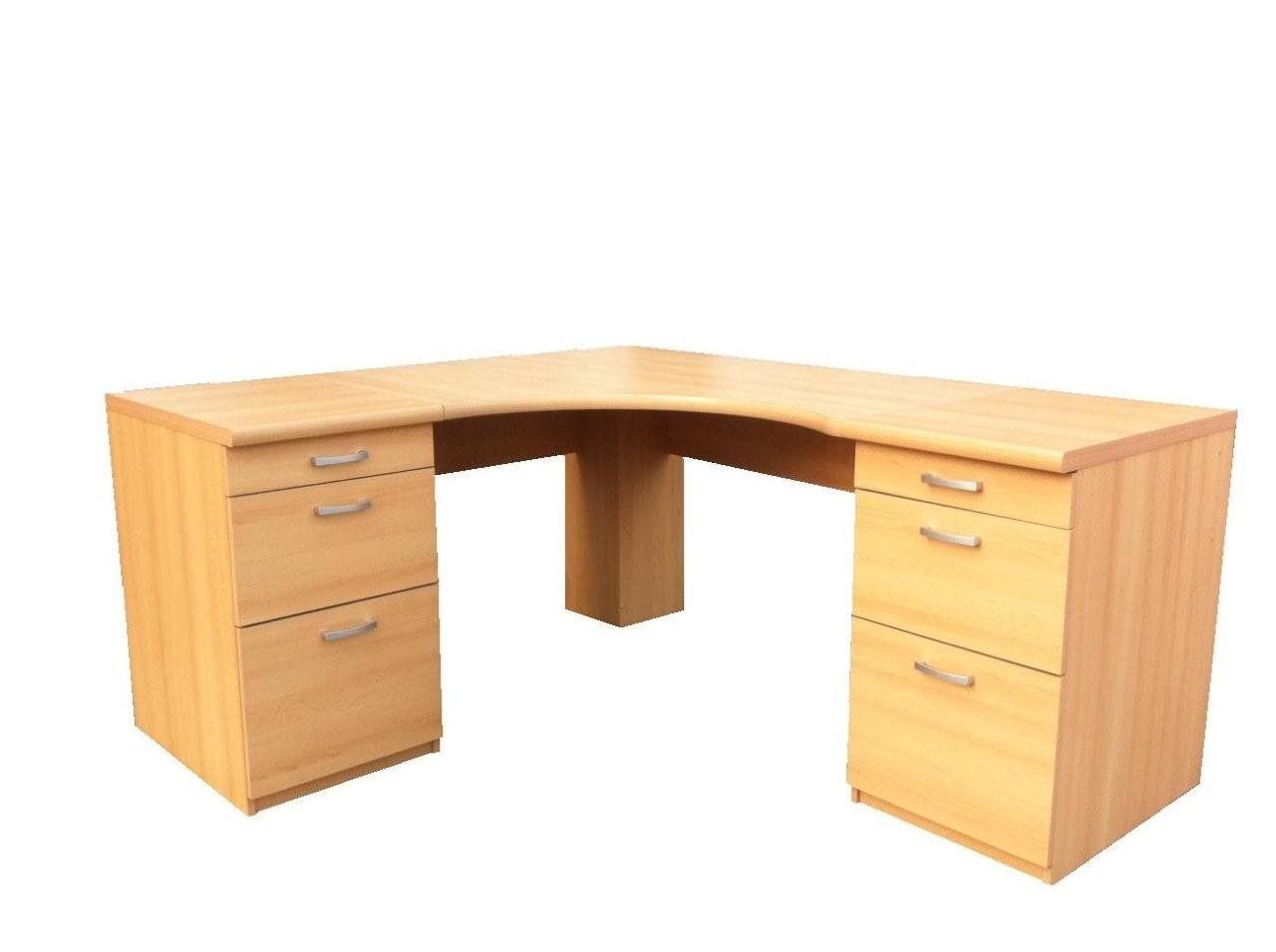 Morgan Large Corner Office Desk Workstation Computer Table