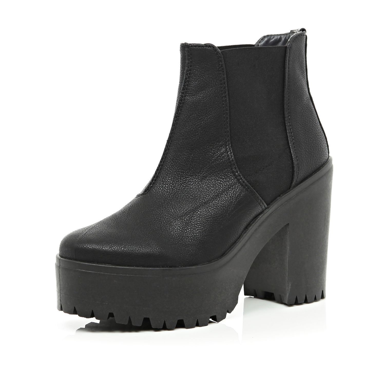 river island platform boots