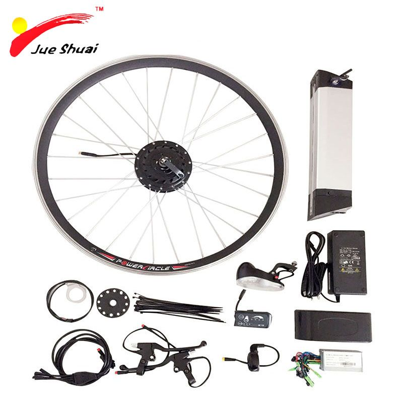36 V 250 W 500 W Bici Elettrica Kit Per 20 26 700c Ruota