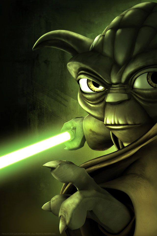 Star Wars Yoda Wallpaper Pictures To Pin On Pinterest Pinsdaddy Yoda Wallpaper Star Wars Art Star Wars Jedi