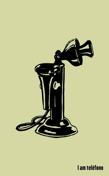 I am telephone | Free phone icon | Dingbats font #Symbols #ClipArt @deFharo