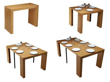 Mesas para comedores peque os comedores pinterest for Mesas comedores pequenos
