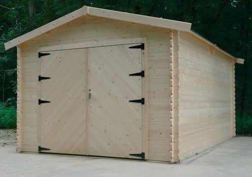 Garage bois 1383 m² carport garage Pinterest Garage