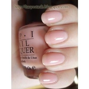 Opi Passion Sheer Soft Pale Pink Very Natural Color With